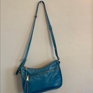 HOBO Brand blue leather purse